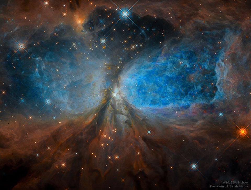 Región de formación estelar S106