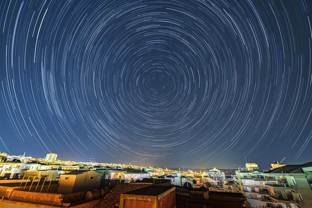 Stopy hvězd nad Ragusou