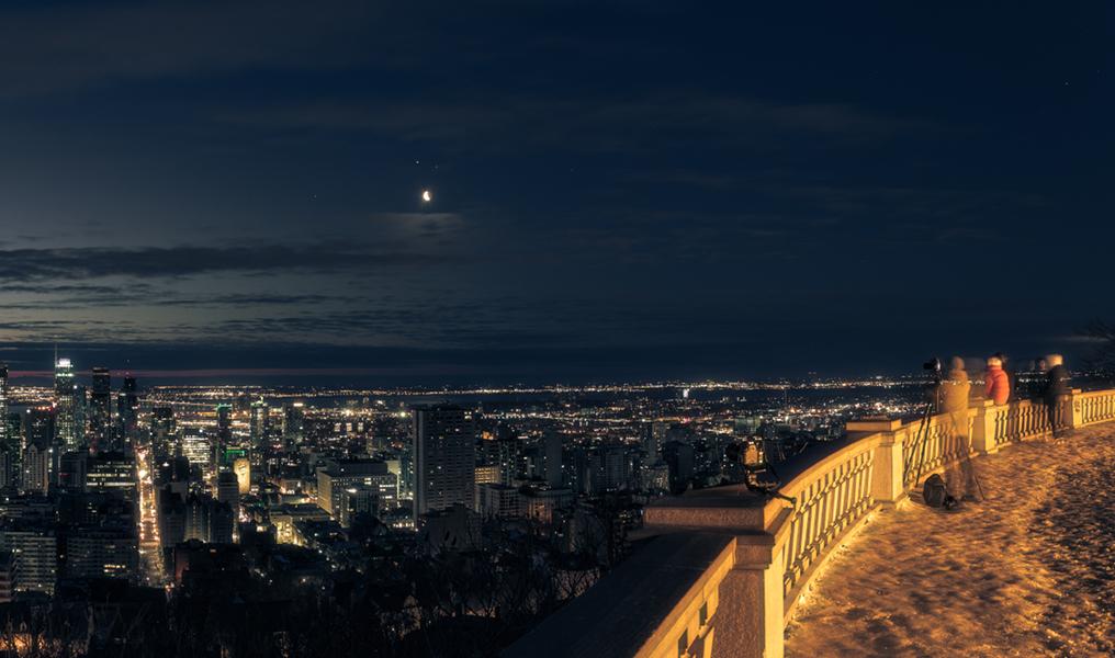 Mañana, planetas, luna y Montreal