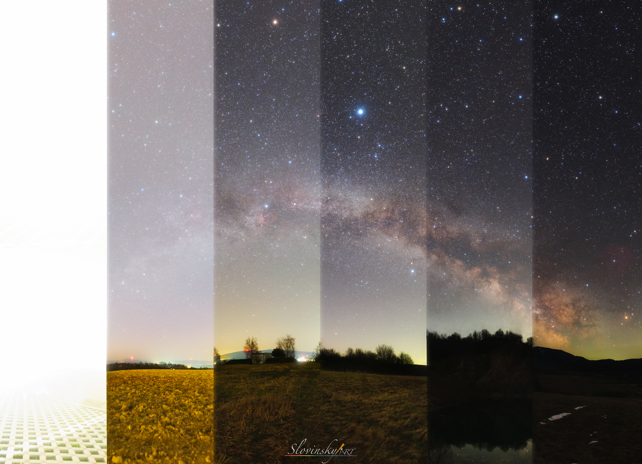 Country Sky versus City Sky