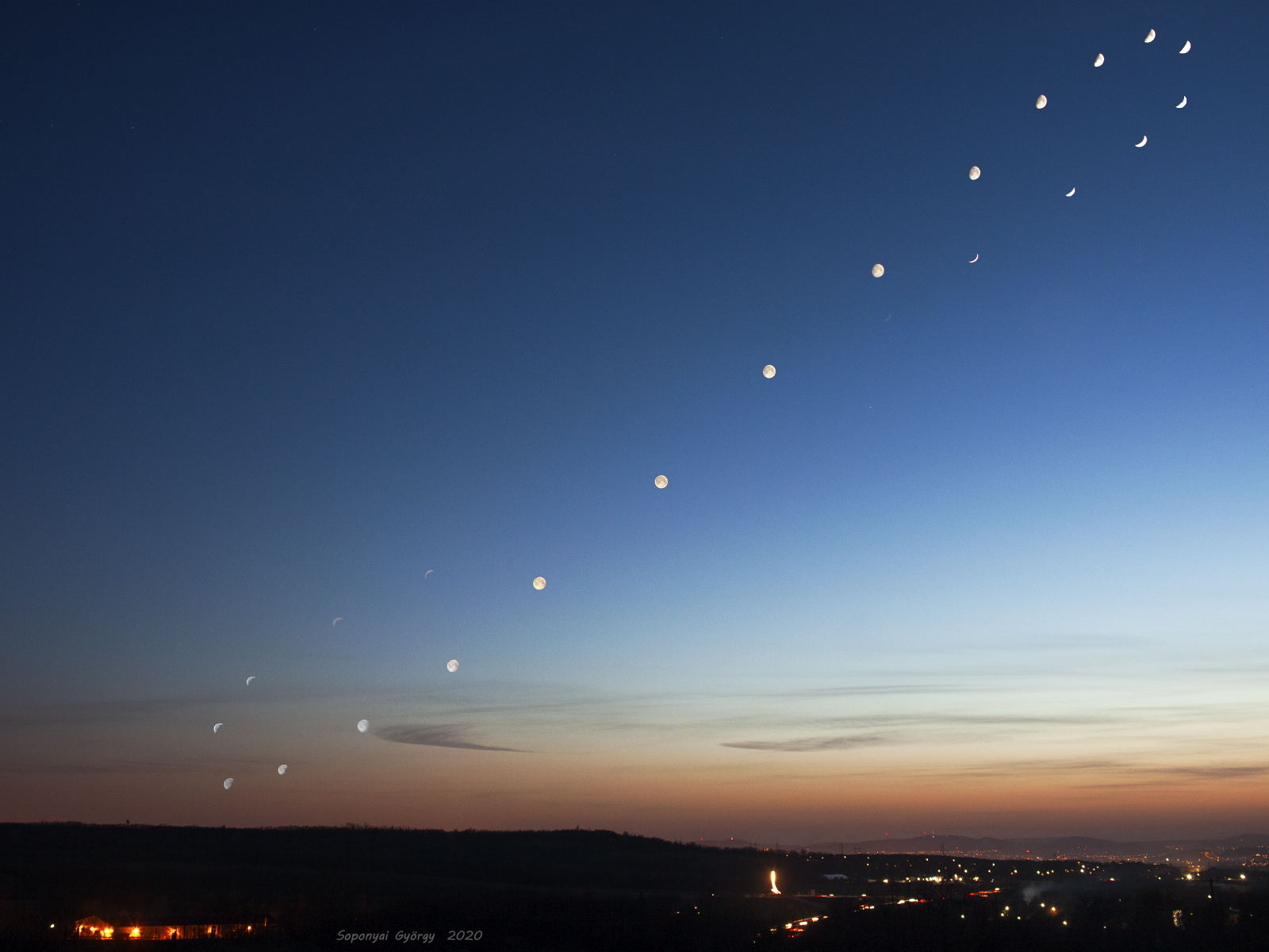 [ASTRONOMIA]   ¨  Analemma of the Moon