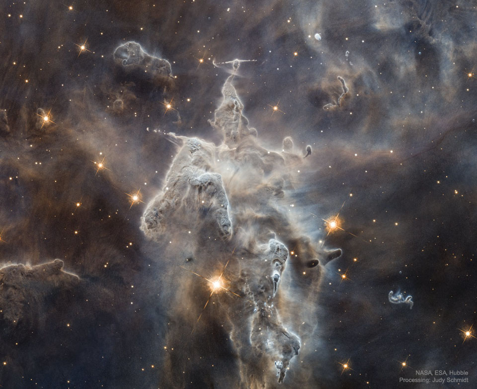 Part of Carina Nebula