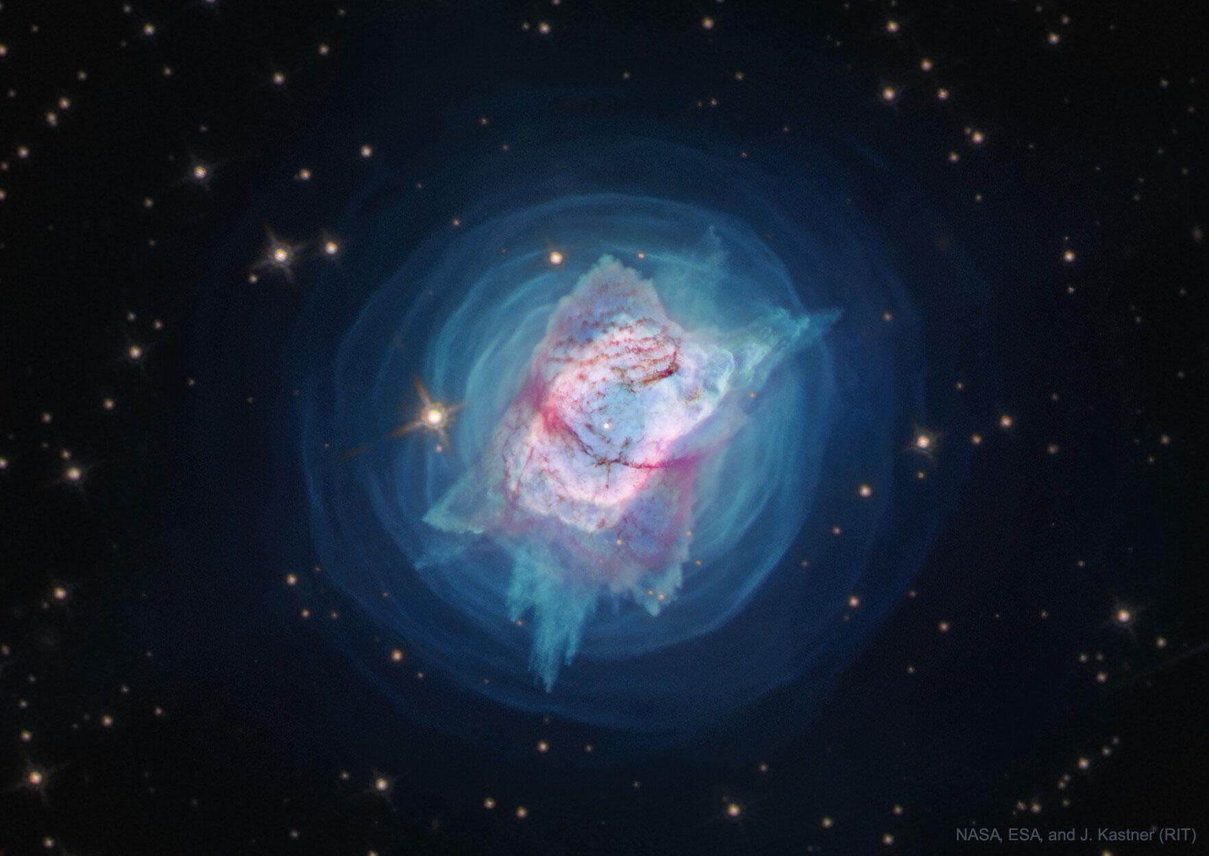 APOD: 2020 June 30 - Bright Planetary Nebula NGC 7027 from Hubble