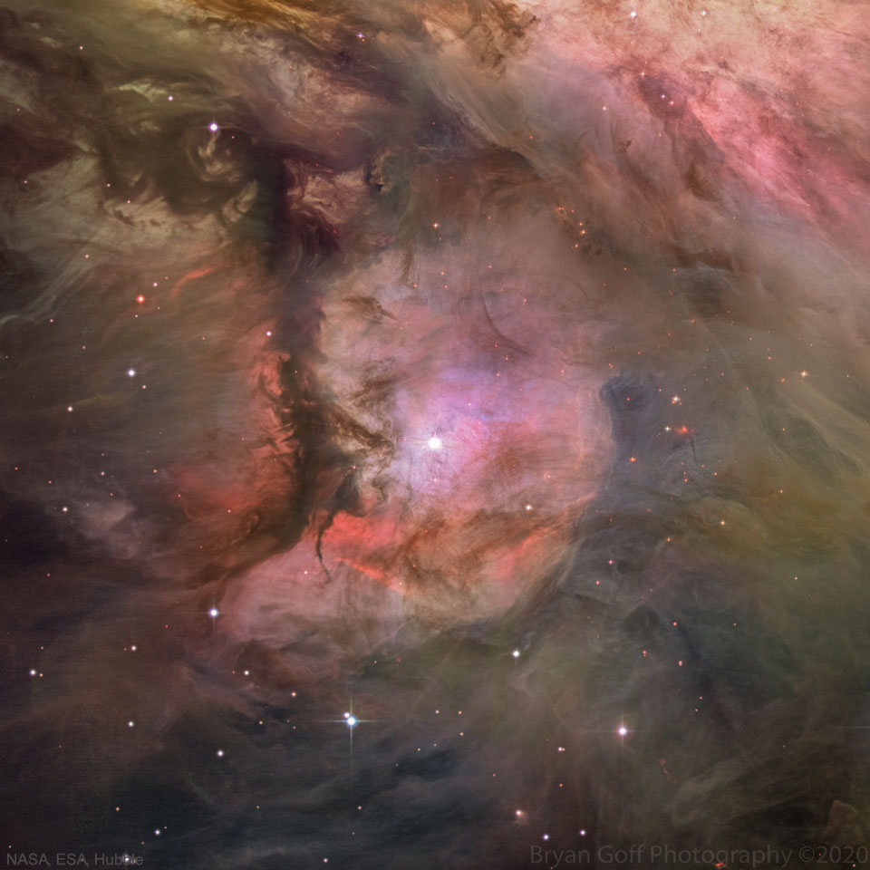 M43: Dust, Gas, and Stars in the Orion Nebula