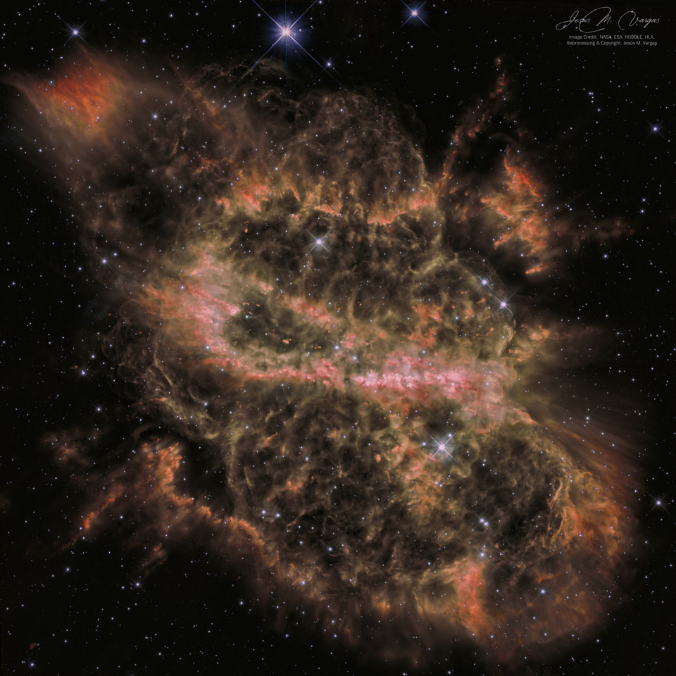 Why is this nebula so complex?