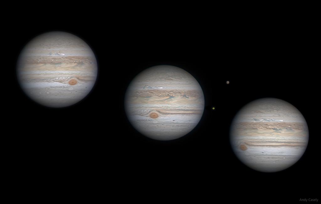 Jupiter's Swimming Storm