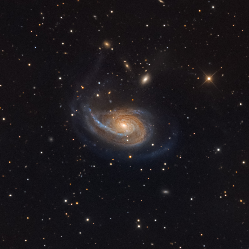 Arp 78: Peculiar Galaxy in Aries