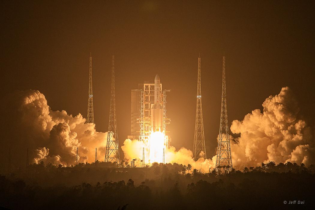 Lanzamiento de la misión Chang'e 5