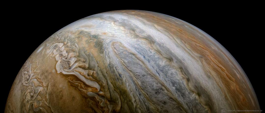 A Jupiter Vista from Juno