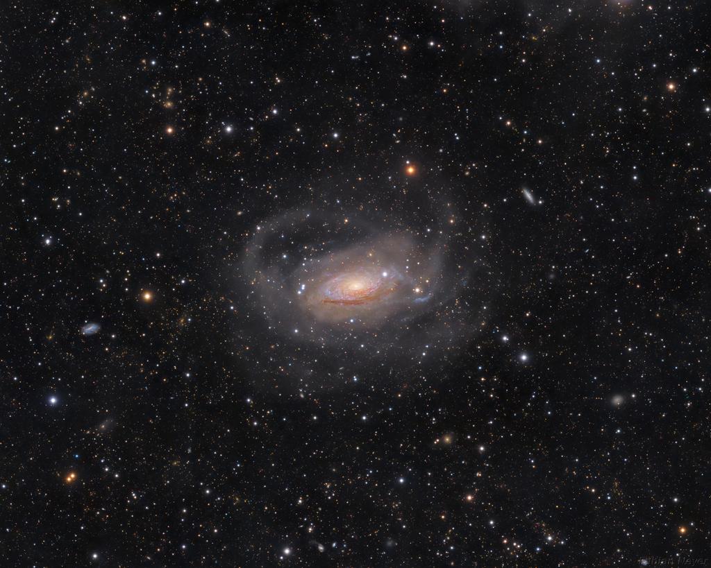 綺麗な銀河・星雲(132) - りょうけん座にある渦巻銀河「M63(Sunflower ...