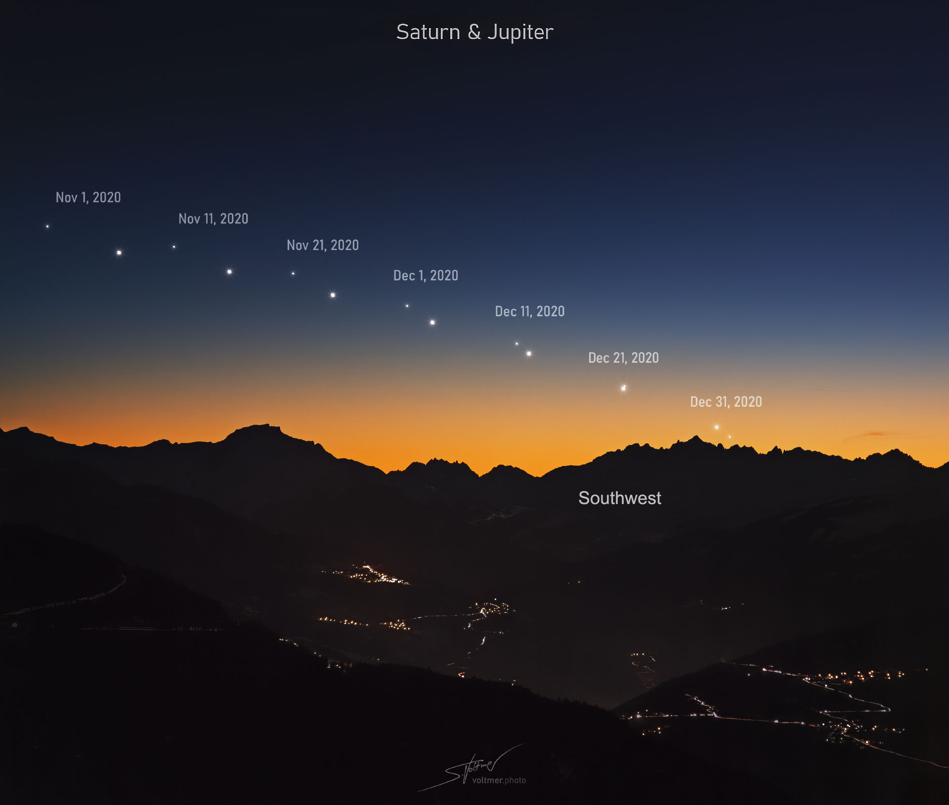 Winter Solstice and how to watch Monday's 'Great Conjunction'