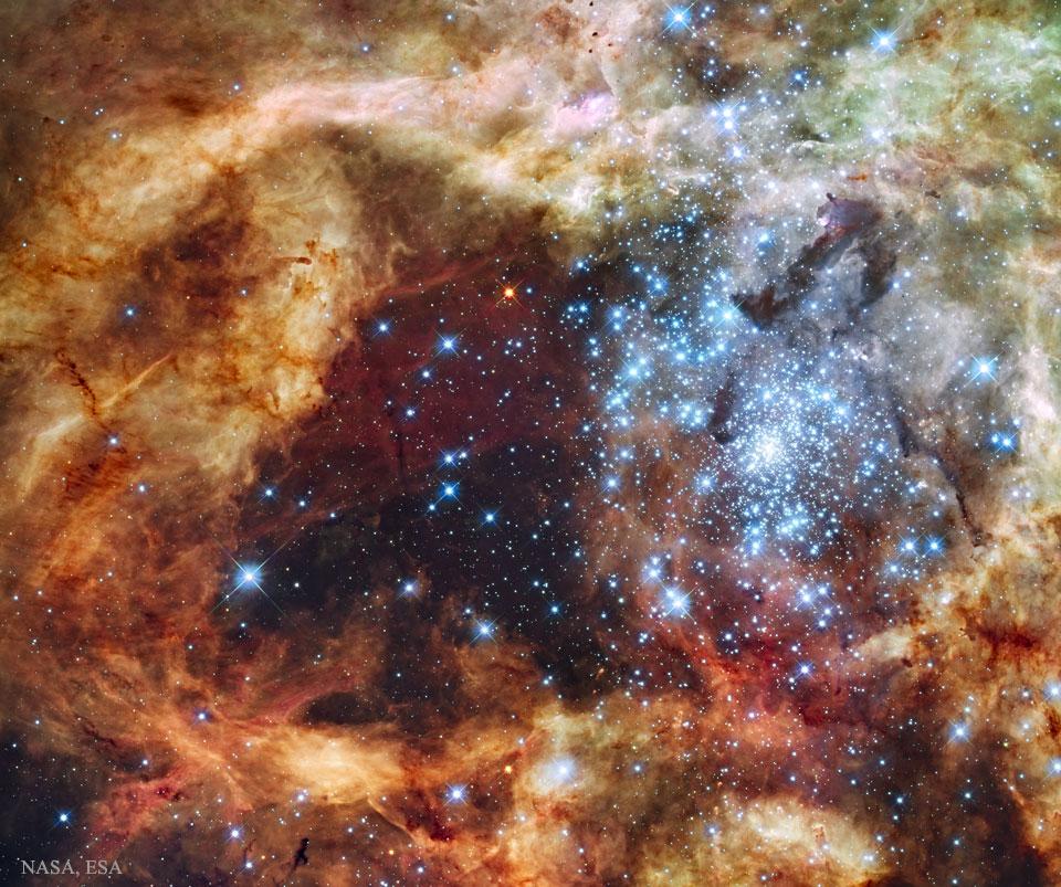 Hvězdokupa R136 se rozpadá