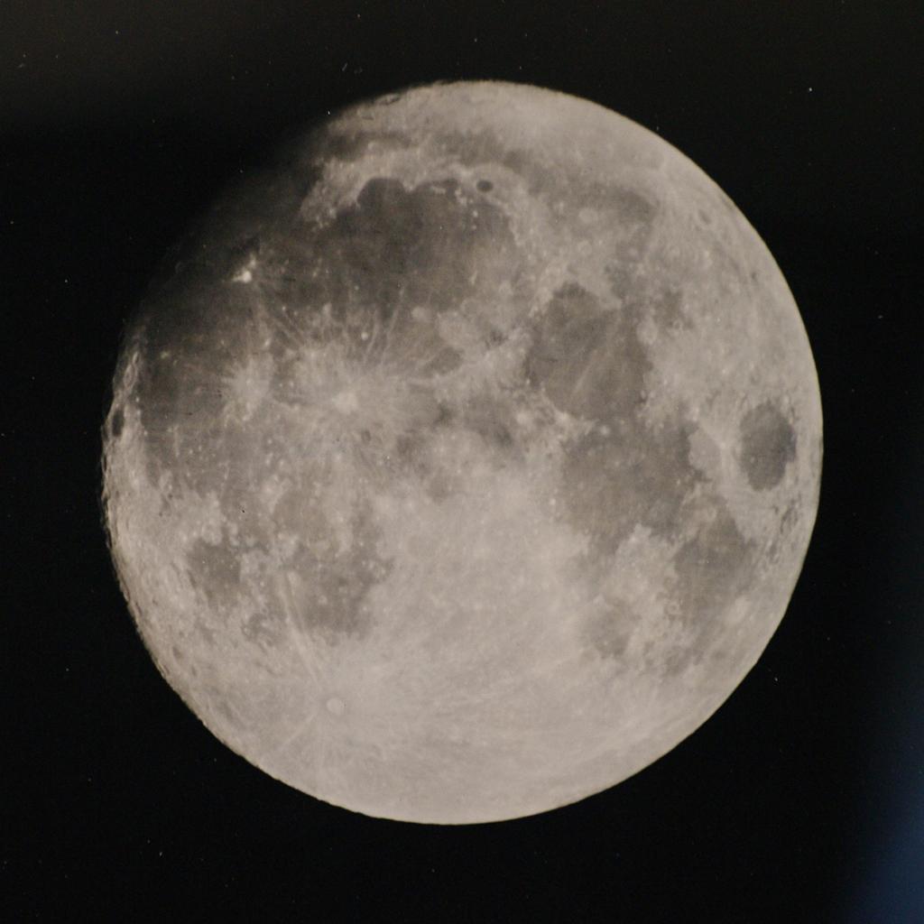 Měsíc 21. století mokrým kolodiem