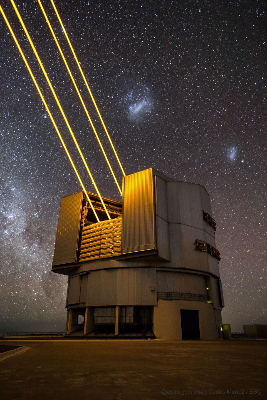 Lasery ke zklidnění oblohy