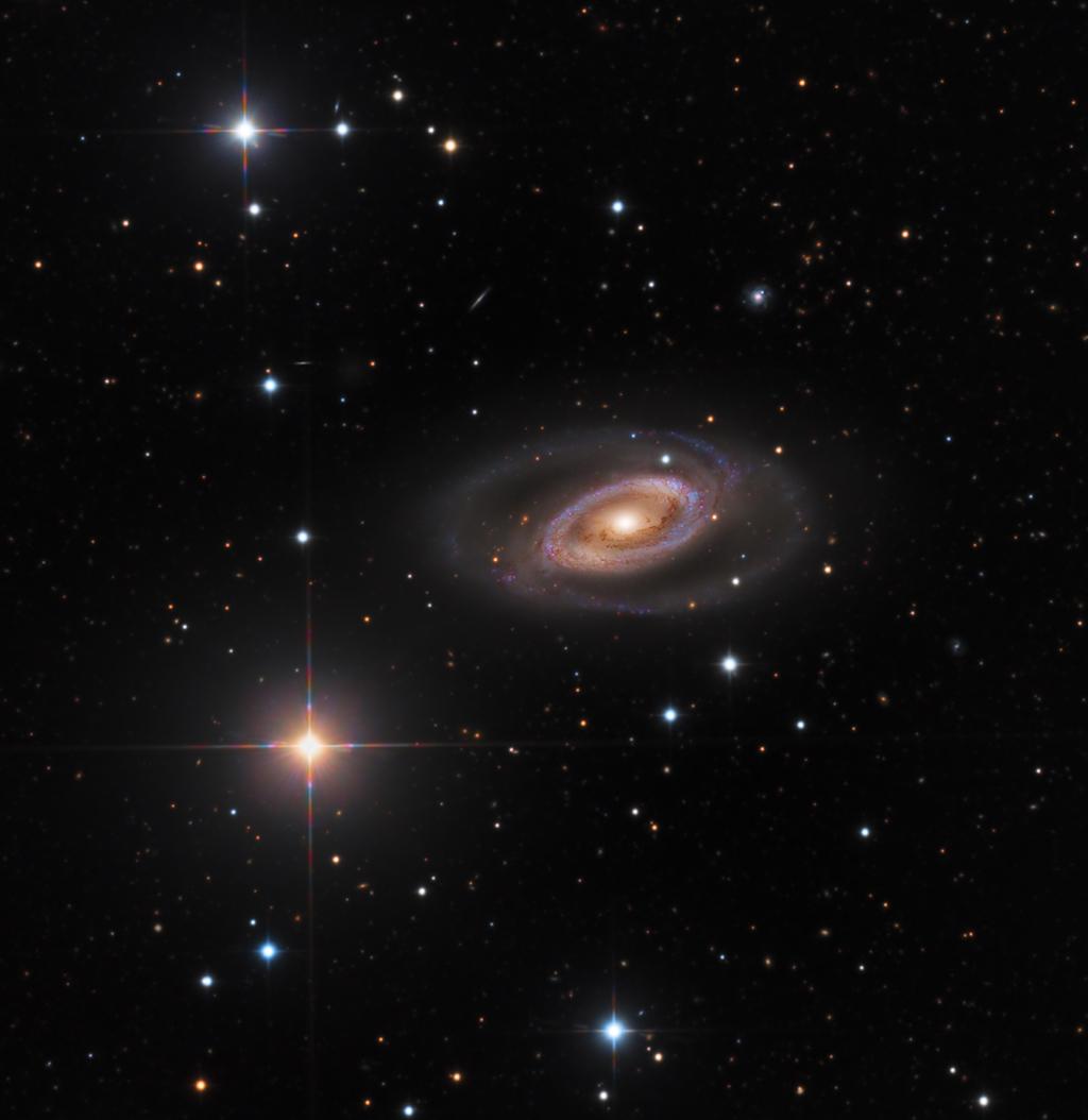 Spirální galaxie NGC 1350