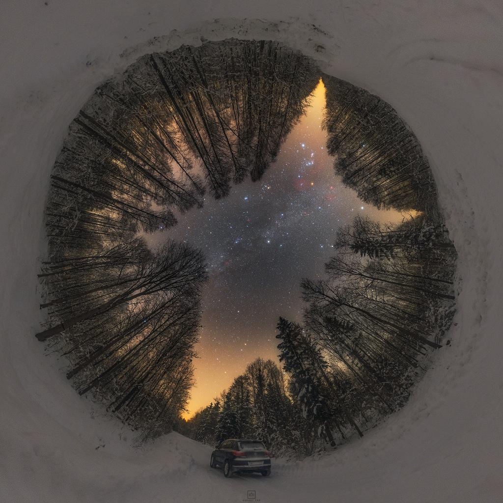 Severní zimní noc