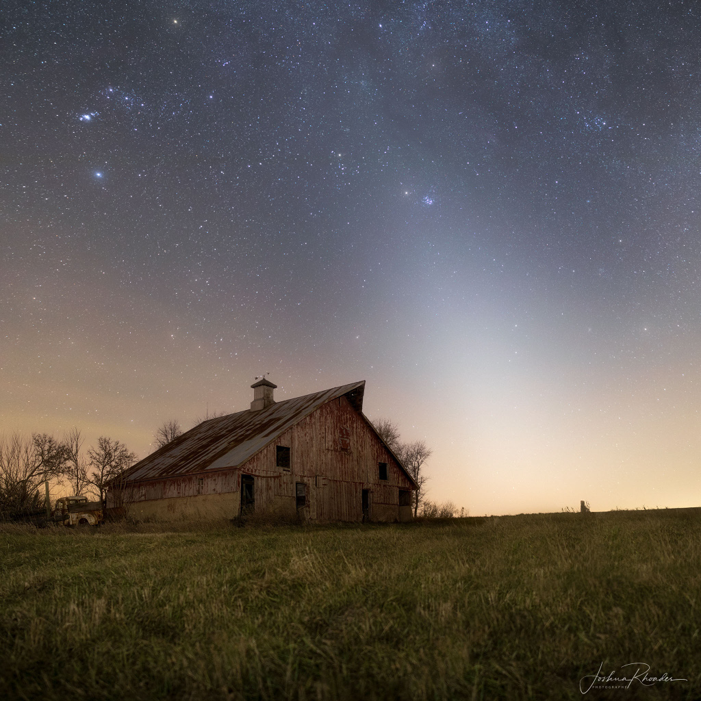 Zodiacal Light and Mars