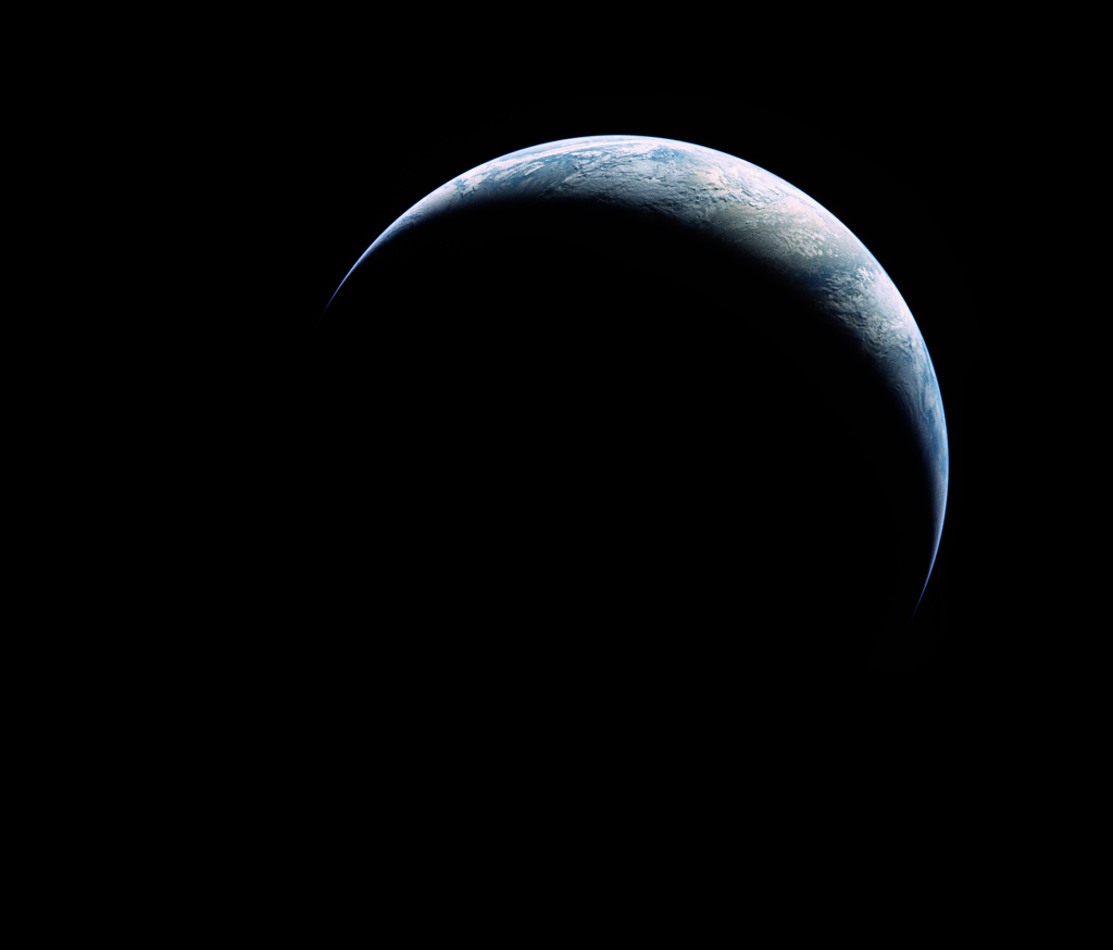 Crescent of Earth