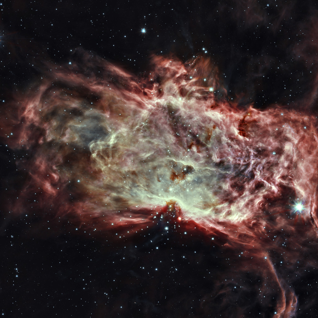 Inside the Flame Nebula