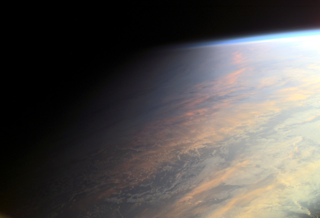 Planet Earth at Twilight