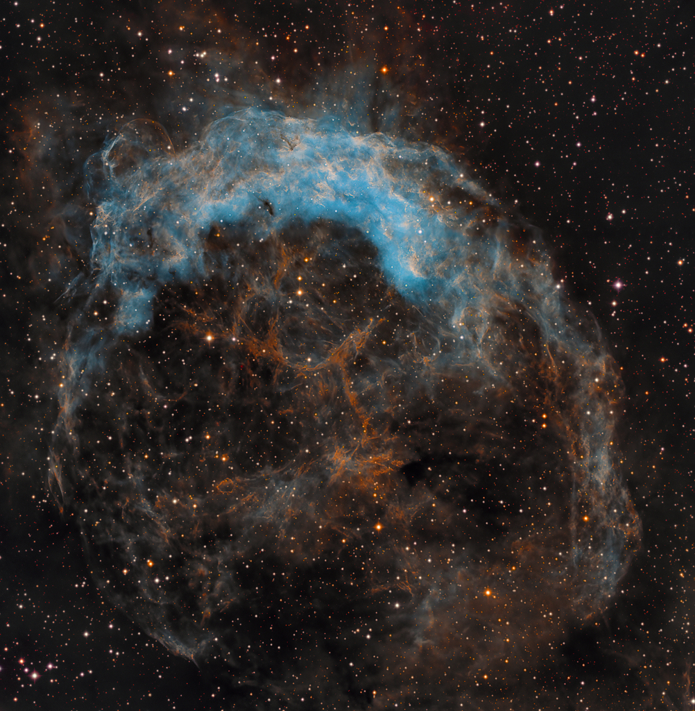 NGC 3199 lies about 12,000 light-years away,