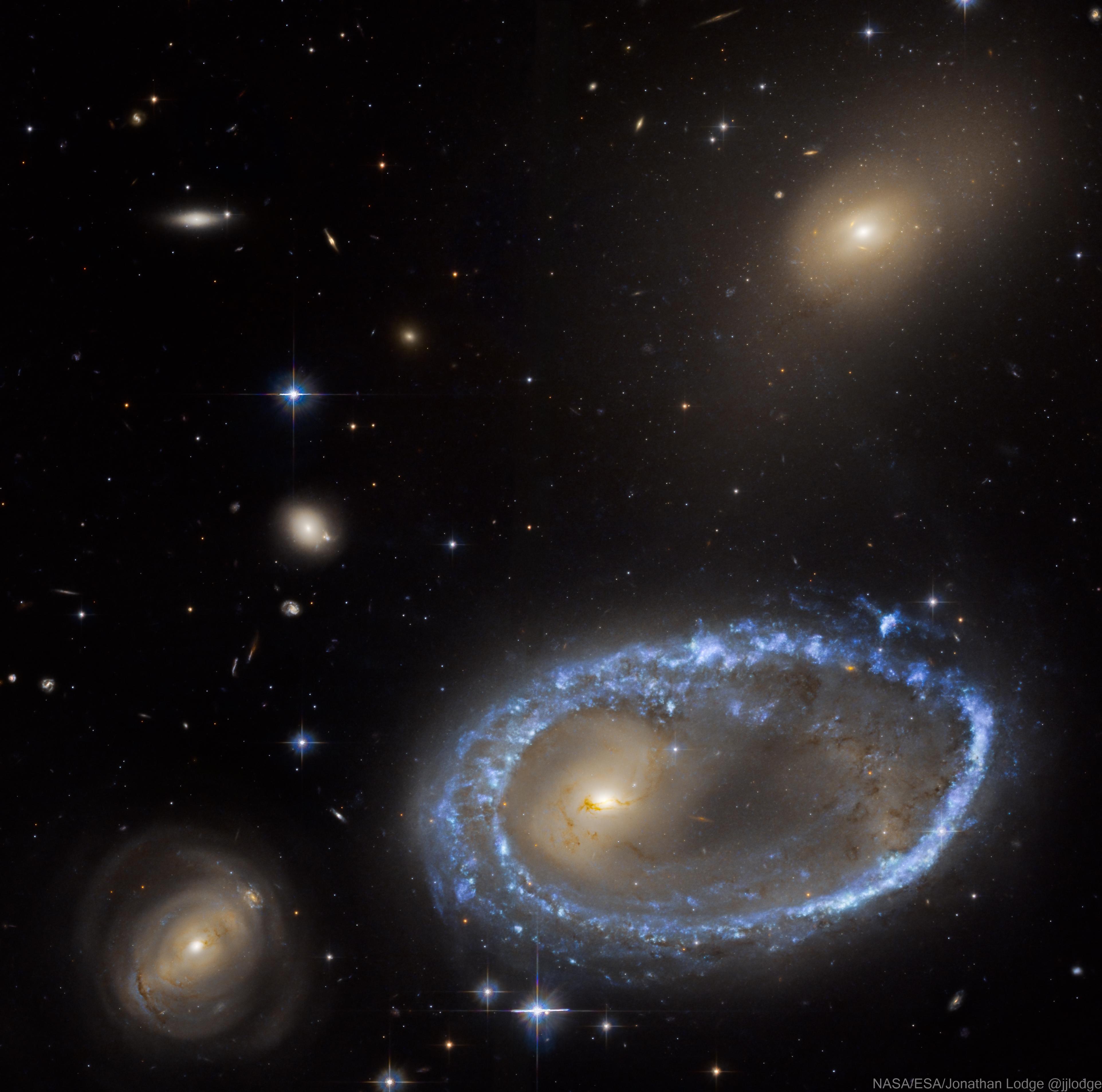 Ring Galaxy AM 0644-741