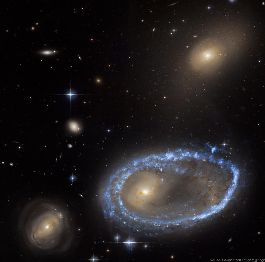 Ring Galaxy AM 0644 741