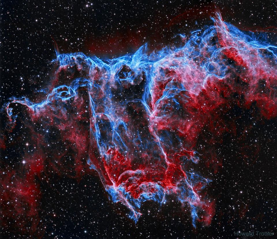 NGC 6995: The Bat Nebula