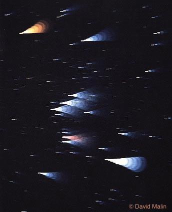 Los colores de las estrellas de Orión