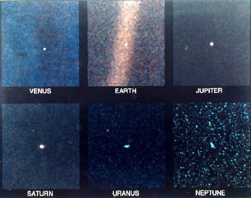 Nuestro Sistema Solar desde el Voyager
