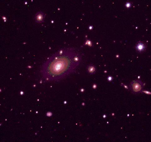 El cúmulo de galaxias A2199