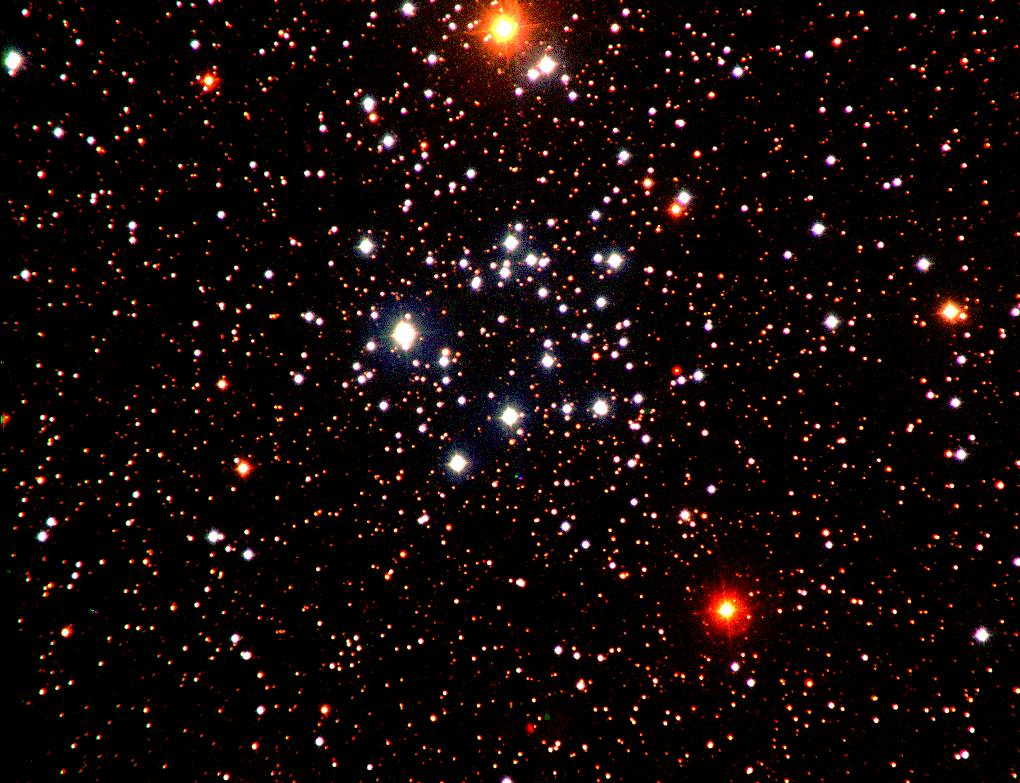 APOD: January 28, 1997 - Open Cluster M50