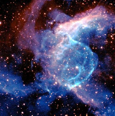 Burbujas y arcos en NGC 2359