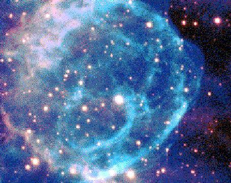 Una estrella de Wolf-Rayet haciendo burbujas