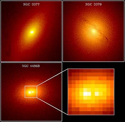 Černé díry ve středech galaxií