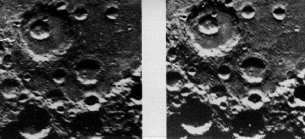 Mercurio en estéreo: cráteres dentro de cráteres