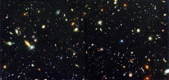La Profundidad de Campo del Hubble
