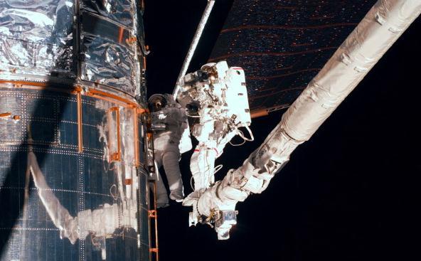Nuevos ojos para el telescopio espacial Hubble