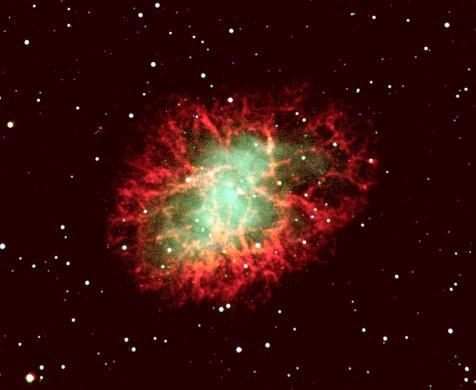 M1: Los filamentos de la nebulosa Cangrejo