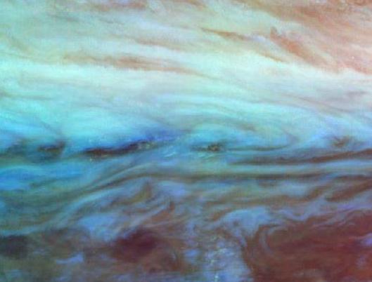 Júpiter: en la frontera cinturón-zona