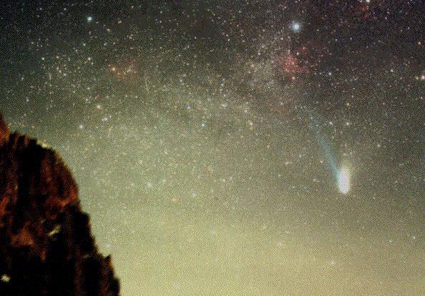 Hale-Bopp: el cometa más brillante de la década