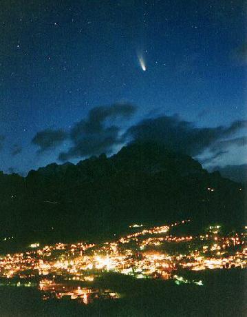Un cometa en el cielo