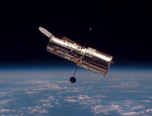 El Hubble flota libremente