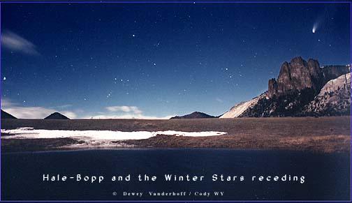 Hale-Bopp y Orión