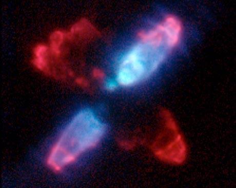 La cáscara de la nebulosa del Huevo