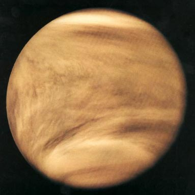 Venus en ultravioleta