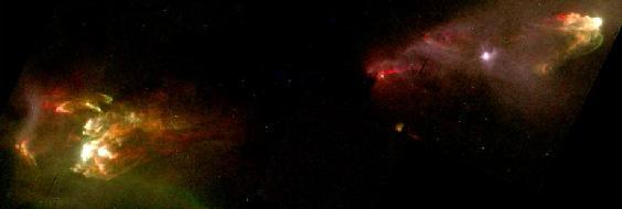 HH1/HH2: Chorros estelares