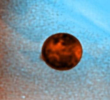 Erupción en Io