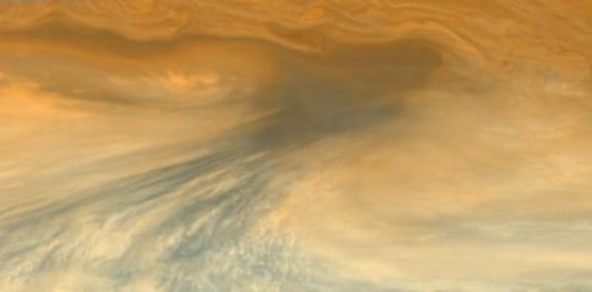 Las zonas secas de Júpiter