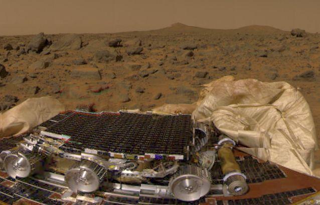 Un Aterrizaje En Marte